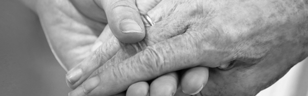 photo of two caring hands