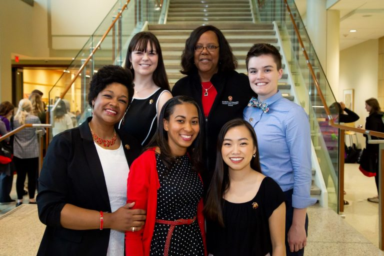 School of Nursing Graduation Awards recipients