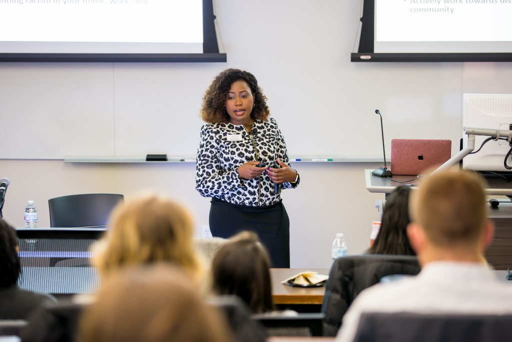 Presentation at the Nursing Workforce Diversity Conference at the University of Wisconsin School of Nursing.