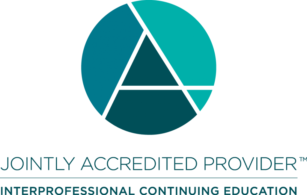 Logo for Jointly Accredited Provider, Interprofessional Continuing Education
