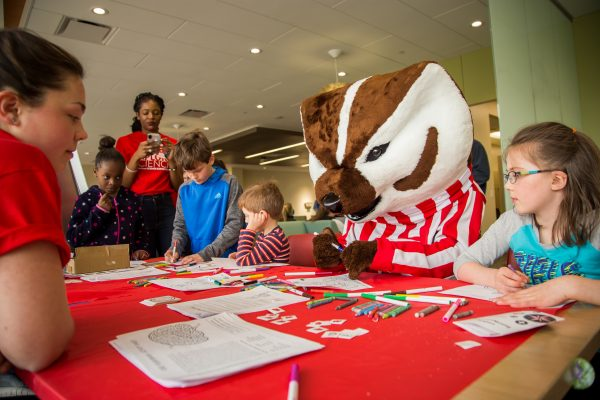 Science Expeditions, kids with Bucky