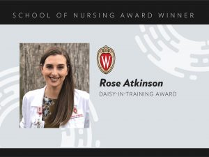 Rose Atkinson, 2020 DAISY-in-Training Award