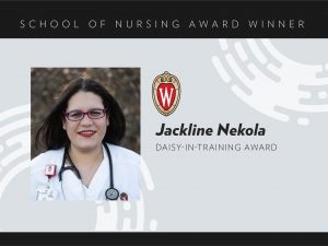 Jackline Nekola 2020 Daisy-in-Training Award