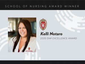 Kelli Notaro, 2020 DNP Excellence Award