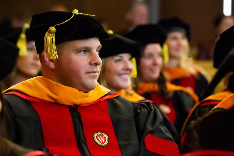 UW-Madison School of Nursing DNP graduation