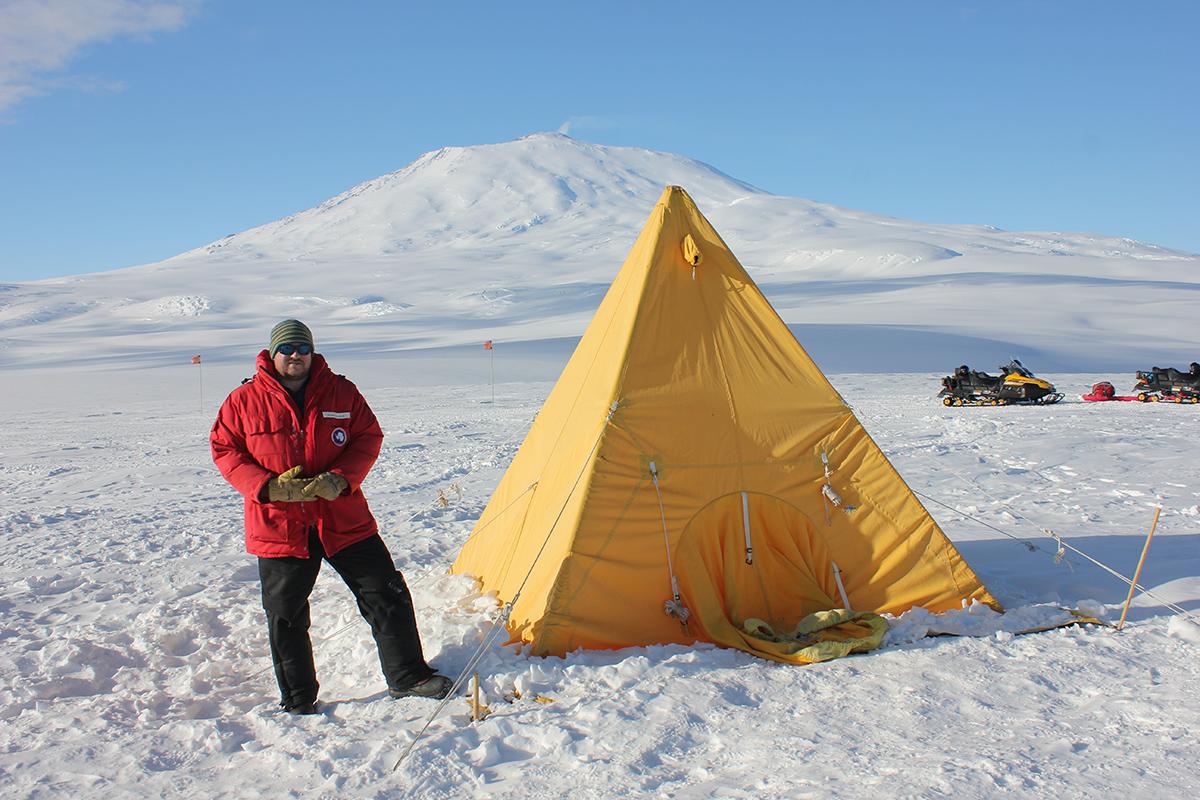 Shawn Waldron '19, Antarctica